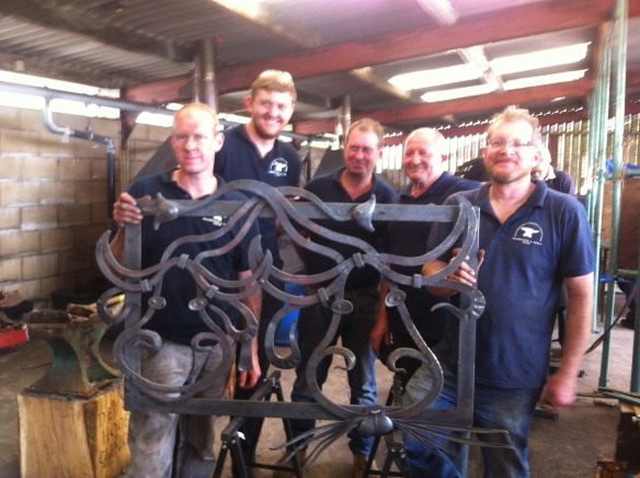 Blacksmith competition, Edenbridge and Oxted Show, Blacksmith, Hand forged, Ironwork, Forge, Wrought Ironwork, Hot Forged, Blacksmithing