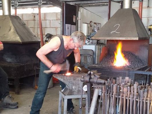 Blacksmith competition, Devon Show, Blacksmith, Hand forged, Ironwork, Forge, Wrought Ironwork, Hot Forged, Blacksmithing, Live Forging