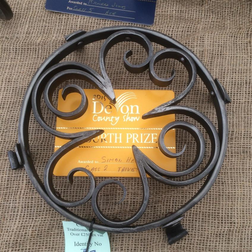 Blacksmith competition, Devon Show, Blacksmith, Hand forged, Ironwork, Forge, Wrought Ironwork, Hot Forged, Blacksmithing