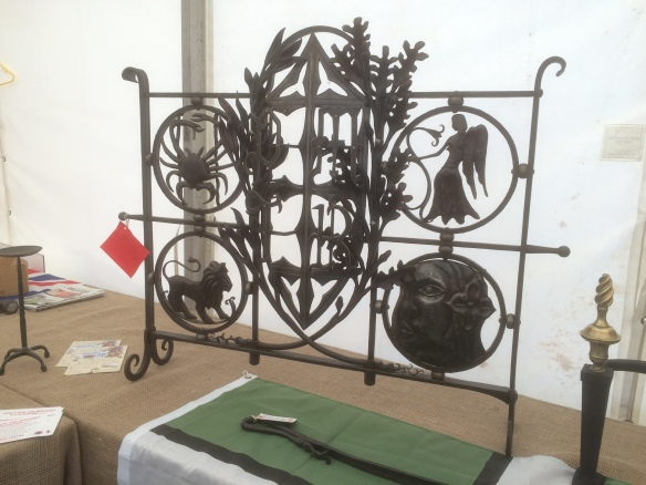 South of England Show, Blacksmith competition, Edenbridge and Oxted Show, Blacksmith, Hand forged, Ironwork, Forge, Wrought Ironwork, Hot Forged, Blacksmithing
