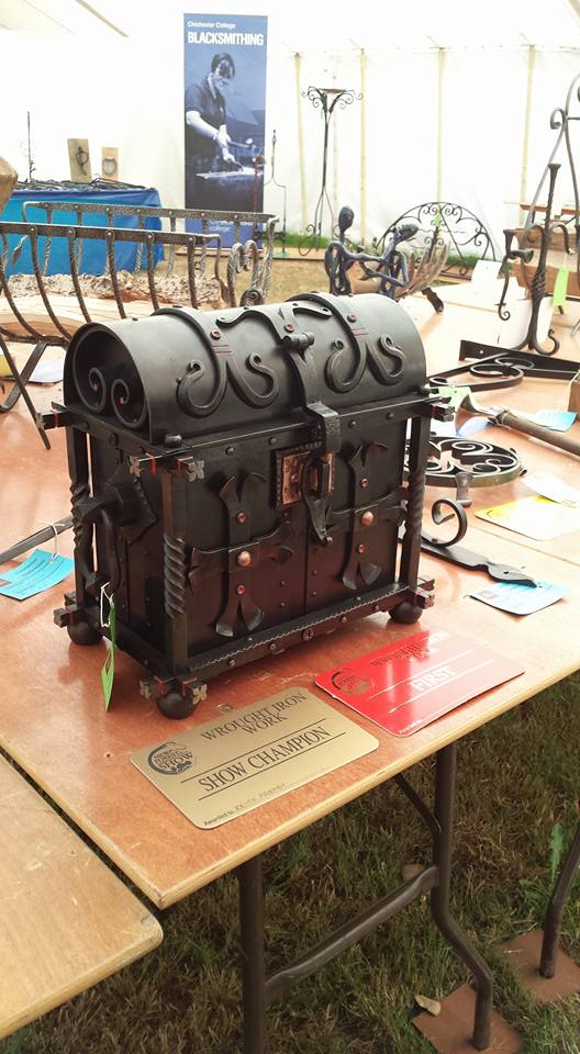 New Forest Show, New Forest and Hampshire Show, Blacksmith competition, Edenbridge and Oxted Show, Blacksmith, Hand forged, Ironwork, Forge, Wrought Ironwork, Hot Forged, Blacksmithing
