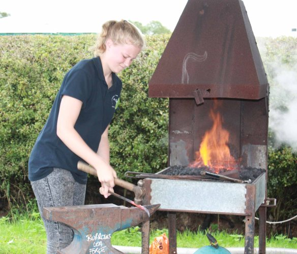 Blacksmith competition, Edenbridge and Oxted Show, Blacksmith, Hand forged, Ironwork, Forge, Wrought Ironwork, Hot Forged, Blacksmithing, 2015