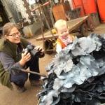 Ypres 2016, Poppy, Poppies, Forge In, Blacksmith competition, Edenbridge and Oxted Show, Blacksmith, Hand forged, Ironwork, Forge, Wrought Ironwork, Hot Forged, E&O Blacksmiths, Blacksmithing