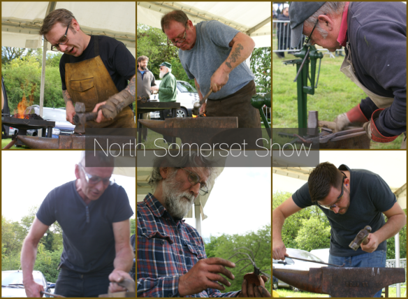 Edenbridge and Oxted Blacksmith Competitions, Wrought Ironwork,Blacksmiths Competition, NBCC, NBCC Live Forging , Live Forging, Blacksmith competition, North Somerset Show, Blacksmith, Hand forged, Ironwork, Forge, Wrought Ironwork, Hot Forged, Blacksmithing, 2018